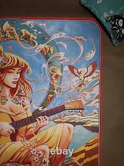 Miles Tsang AP Variant Dave Matthews Band DMB Gorge WA Print Poster S/N 25/100