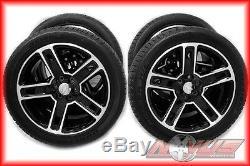 New 2015 22 Gmc Yukon Sierra Denali Chevy Silverado Tahoe Black Wheels Ck160 20