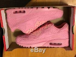 Nike Air Max 90 DMB QS City Shanghai Space Pink Red 813152-600 SZ 10 NO BOX TOP
