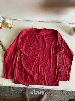 ORFN xl red long sleeve t-shirt US BKF Twist Spray DMB vampire ZEUS Wizard rare