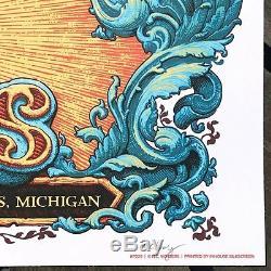 Primus Poster 5/20/2017 Grand Rapids MI Signed & Numbered #/250