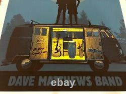 RARE Dave Matthews Band 2012 Gorge moon couple van poster methane dmb