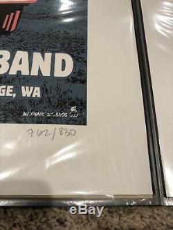 RARE Dave Matthews Band Gorge N3 2008 poster Limited Edition DMB LeRoi Van