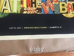 Rare 2012 Dave Matthews Band Poster Clarkston Mi. 7/10/12. Car
