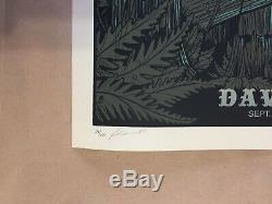 Rare 2012 Dave Matthews Band Poster Shoreline 9\9\12 Mountain View Ca