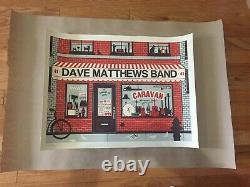 Rare Dave Matthews Band Poster Governor's Island Nyc Pawn Shop 8/28/11