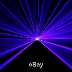 SUNY Remote DMX 450mW BLUE Laser Scan Stage Lighting DJ Party Show Light Music