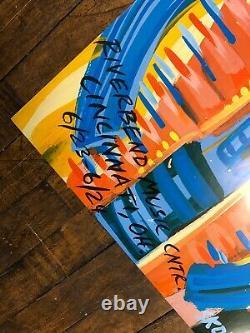 Steve Keene 2003 Dave Matthews Band Cincinnati Ohio Concert Poster Riverbend