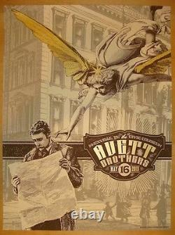 The Avett Brothers 2013 Knoxville, TN Poster Signed/#200 Rare! Sold Out