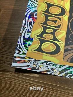 Todd Slater Grateful Dead Art Print Poster Wind Chimes Foil XX/150 DMB Pearl Jam
