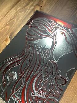Todd Slater Kalopsia Red Foil Variant Art Print Poster Signed XX/200 DMB QOTSA