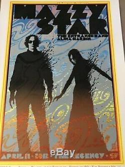 Very rare Chuck Sperry Mazzy Star poster SF 2012 Near Mint of only 150 prints