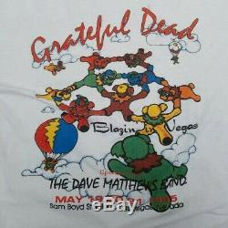 Vintage 90s Grateful Dead In the Desert Dave Matthews Band Vegas Sam Boyd 1995