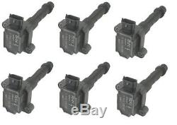 X6 Beru Ignition Coil Packs to fit Porsche 996 Boxster 986 GT3 99660210201 NEW